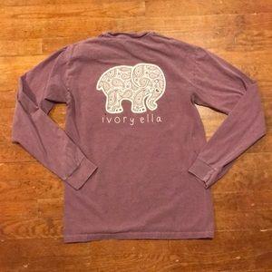 Purple ivory Ella shirt!